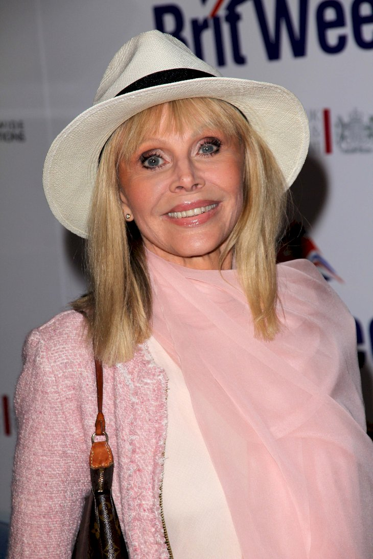 Image Credit: Shutterstock / Britt Ekland at an event.
