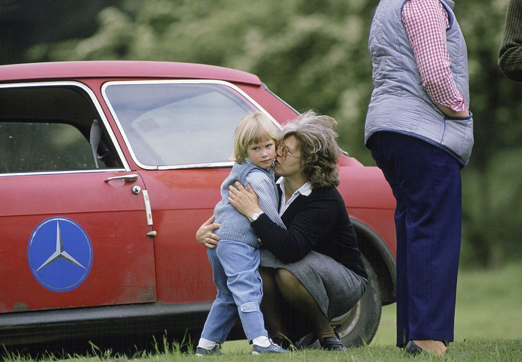 Image Credits: Getty Images /Tim Graham Photo Library | Zara Philips and her nanny