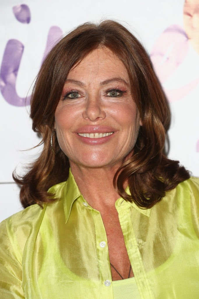 "Image Credits: Getty Images / Frederick M. Brown | Model-actress Kelly LeBrock attends a press conference hosted by Van Nuys-based nonprofit Safe Passage announcing ""Time2Heal,"" an expansion of its support services for victims of domestic abuse, at Beverly Hills Women's Club on June 7, 2018 in Beverly Hills, California."