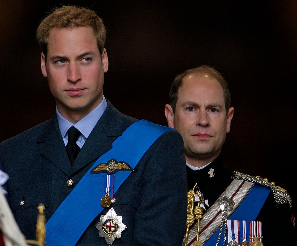 Image Credit: Getty Images / HRH Prince William and HRH Prince Edward, The Earl of Wessex attend a service of commemoration to mark the end of combat operations in Iraq at St Paul's Cathedral on October 9, 2009 in London, England.