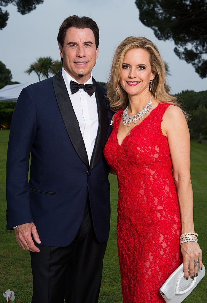 Image Source: Getty Images/Pascal Le Segretain/amfAR14/John Travolta and Kelly Preston pose for a portrait at amfAR's 21st Cinema Against AIDS Gala Presented By WORLDVIEW, BOLD FILMS, And BVLGARI at Hotel du Cap-Eden-Roc on May 22, 2014