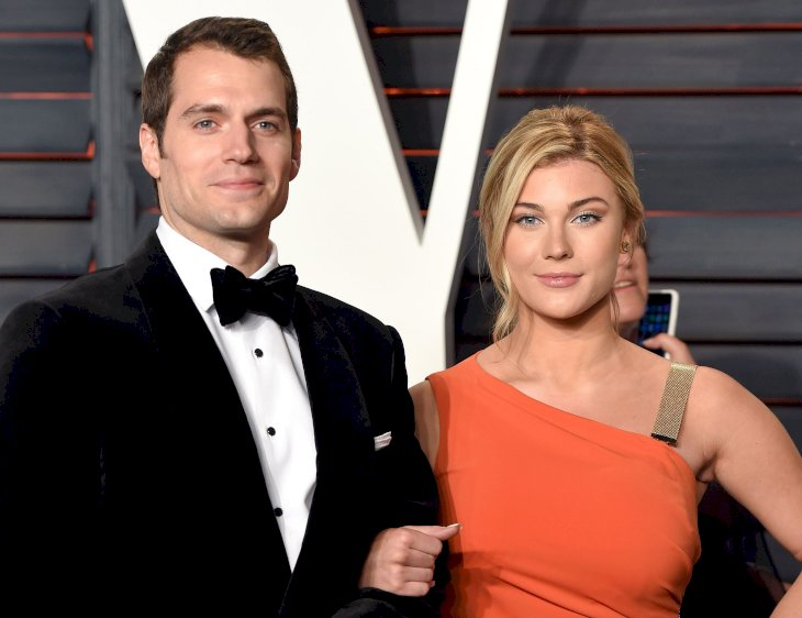 Henry Cavill and Tara King attend the 2016 Vanity Fair Oscar Party / Photo:Getty Images