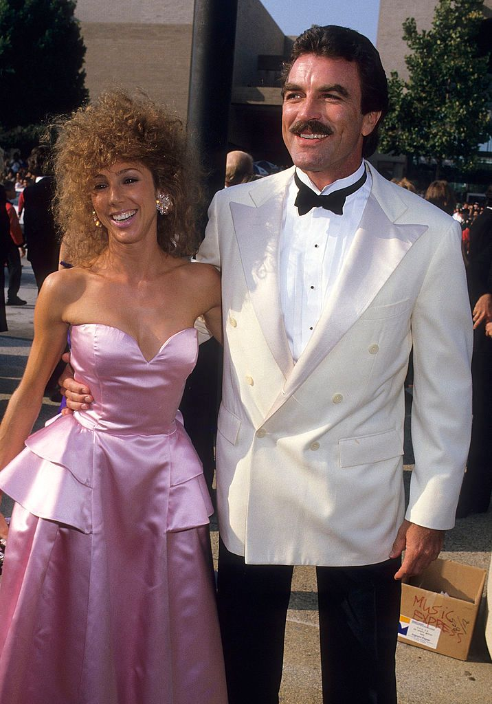 Image Credit: Getty Images/Ron Galella Collection via Getty Images/Ron Galella, Ltd. | Selleck and Mack at a red carpet event