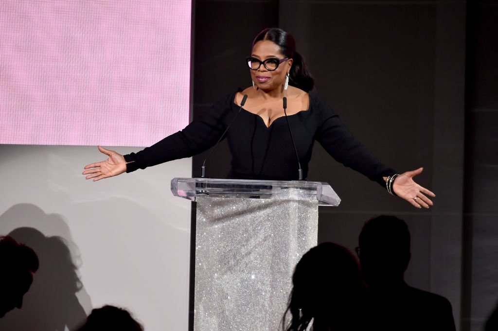 Image Credit: Getty Images / Oprah Winfrey speaks onstage during the 2018 CFDA Fashion Awards at Brooklyn Museum on June 4, 2018 in New York City.
