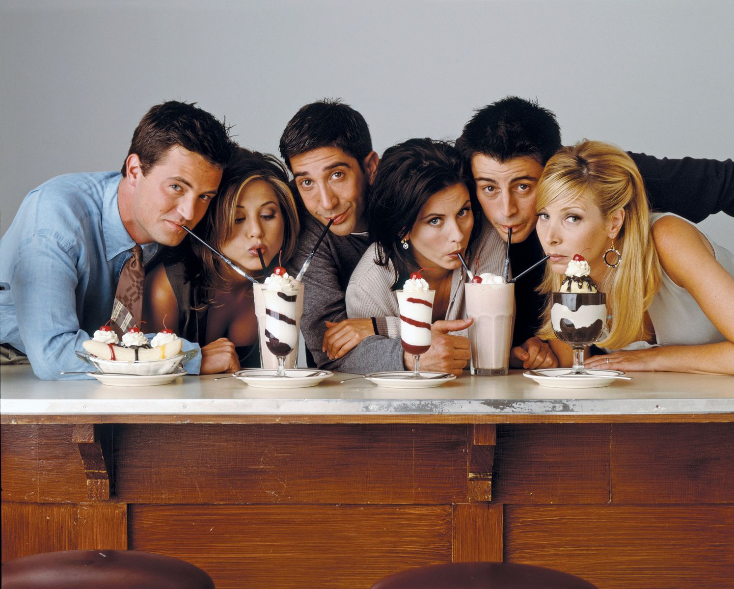 Jennifer Aniston, Courtney Cox, Matthew Perry, Lisa Kudrow, Matt Le Blanc, David Schwimmer/Photo:Getty Images