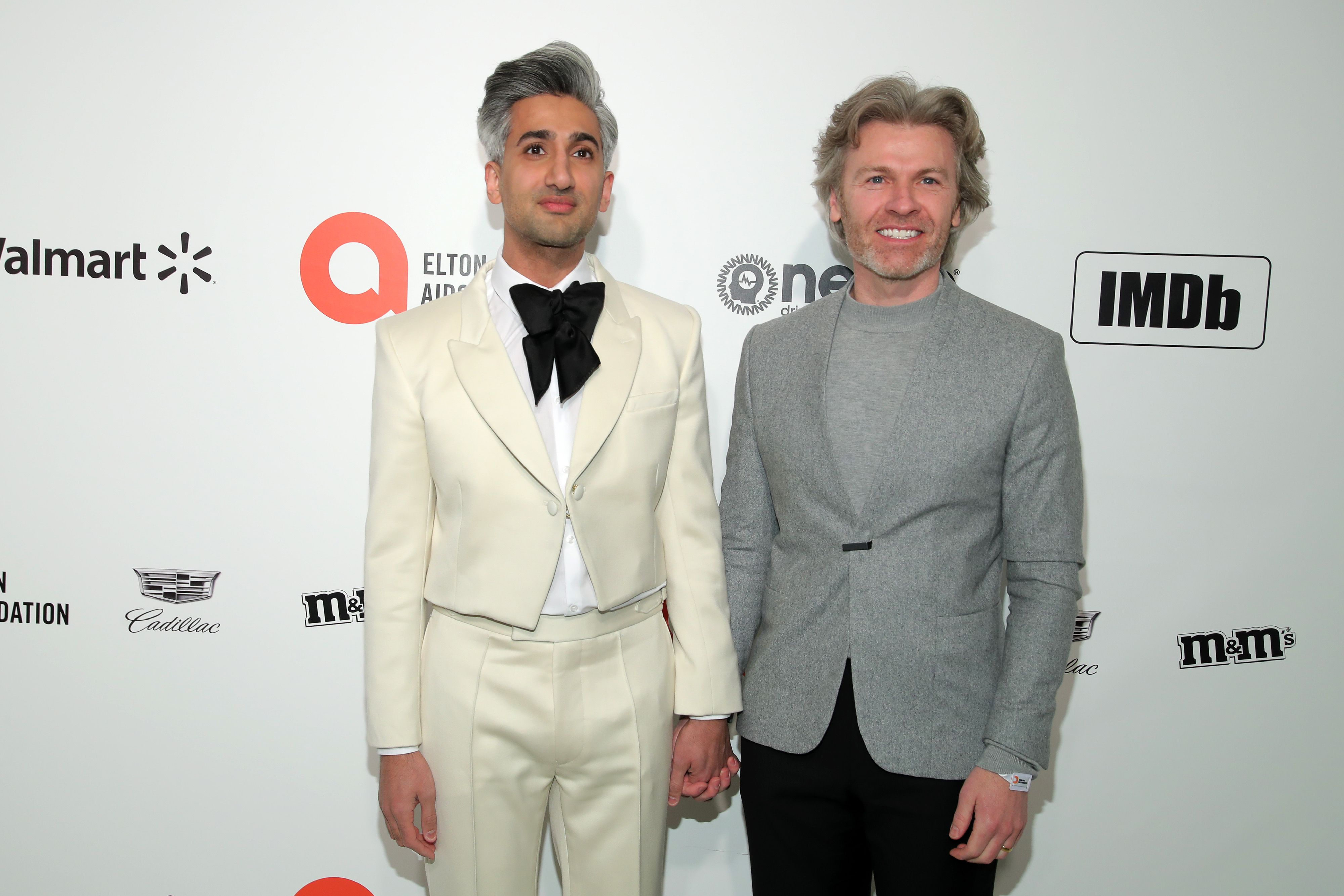 Tan France with his husband illustrator Rob France / Getty Images