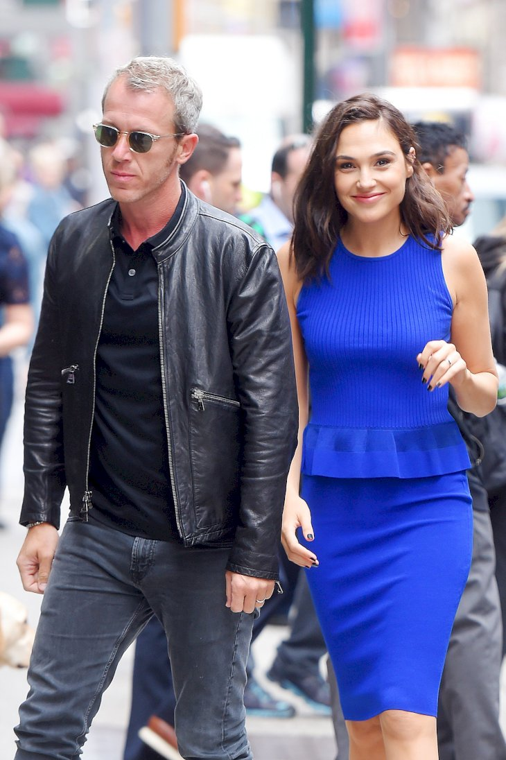 Gal Gadot and husband Yaron Versano are seen out in Manhattan / Getty Images