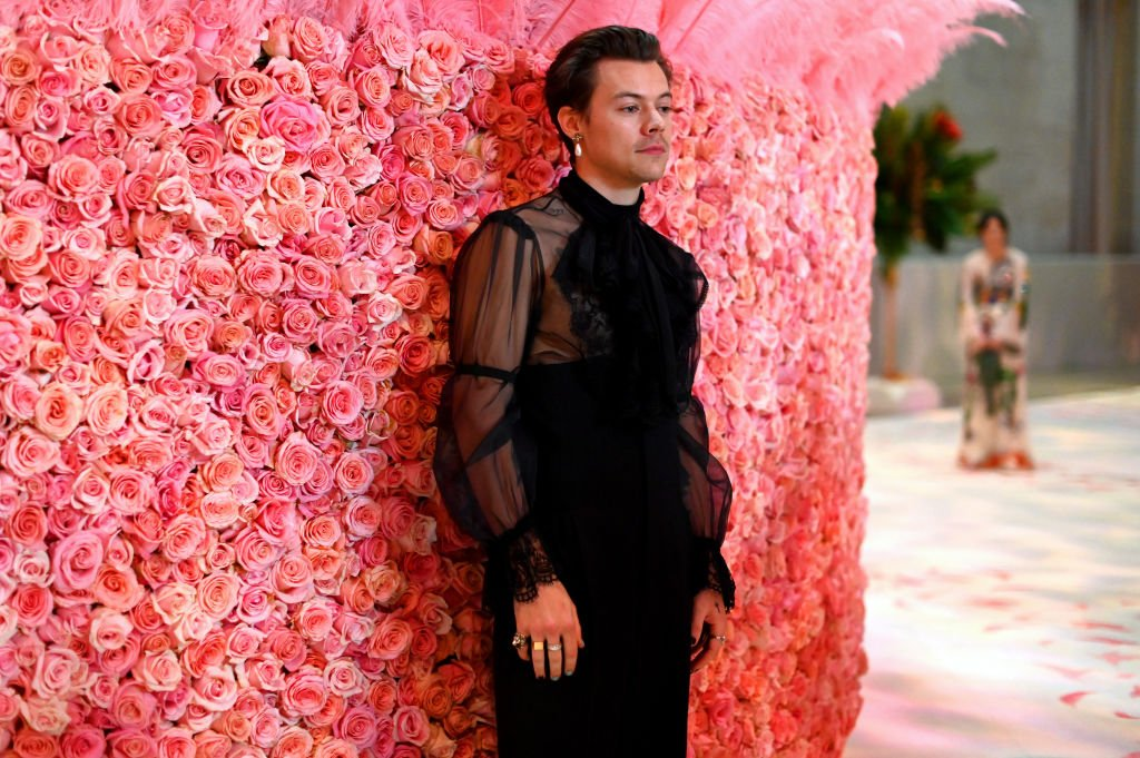 Image Credit: Getty Images / Harry Styles attends The 2019 Met Gala Celebrating Camp: Notes on Fashion at Metropolitan Museum of Art on May 06, 2019.
