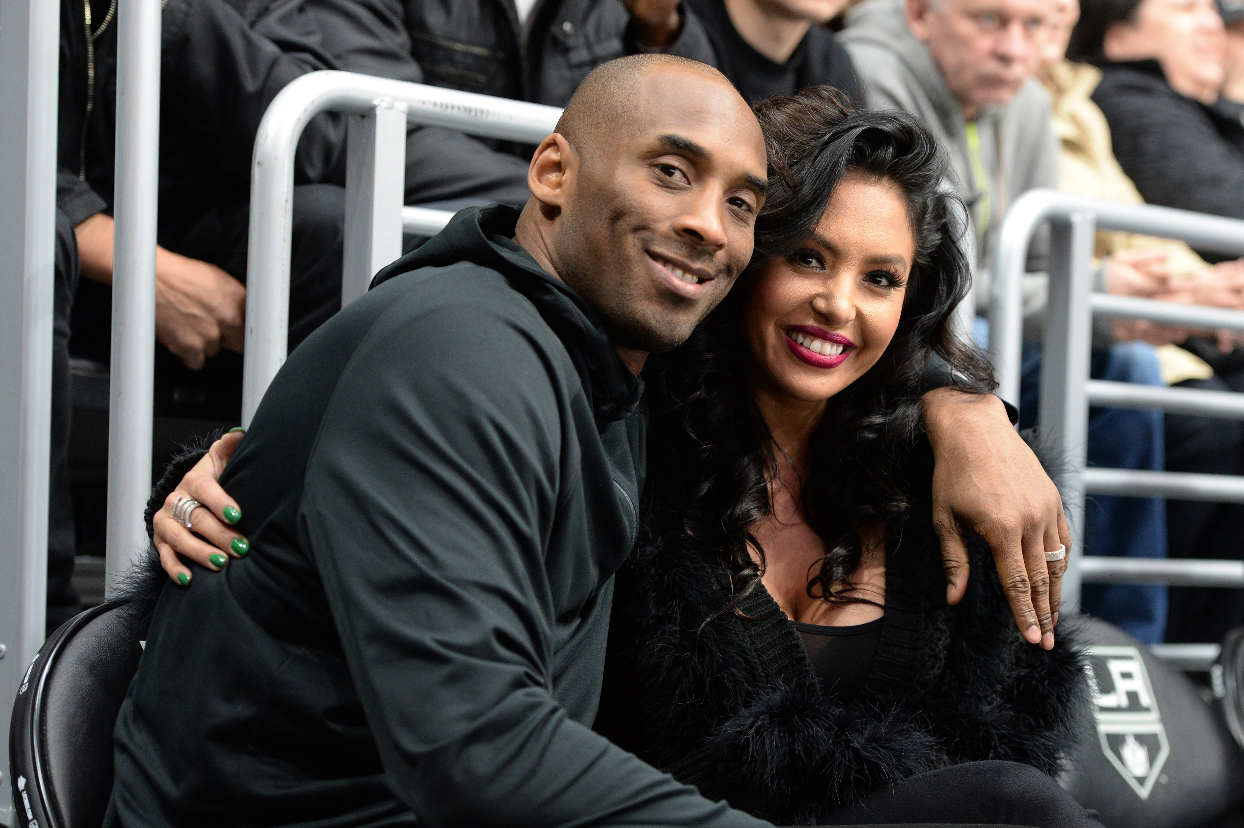Image Source: Getty Images/Kobe Bryant and wife, Vanessa