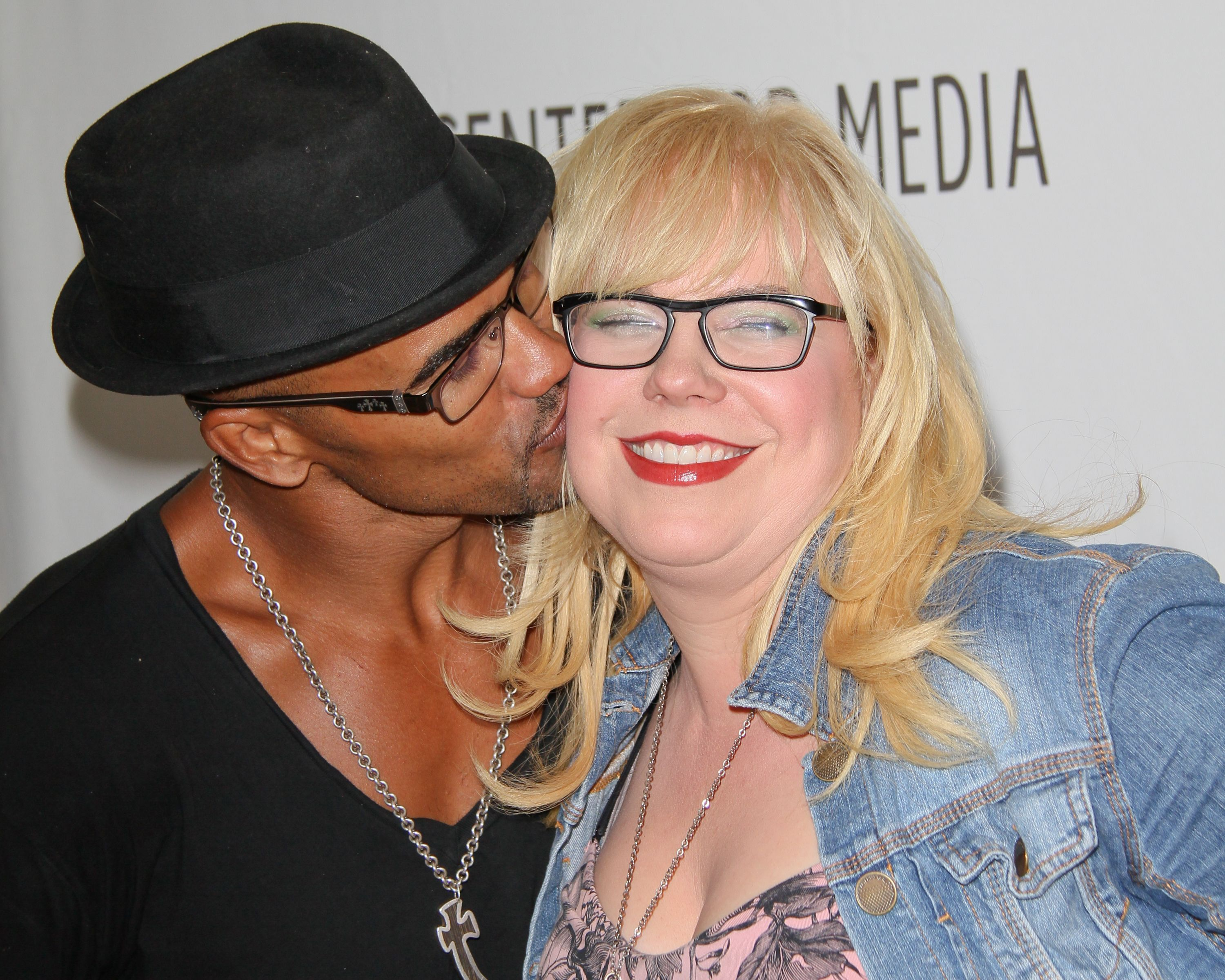 Shemar Moore and Kirsten Vangsness are great friends in real life / Getty Images