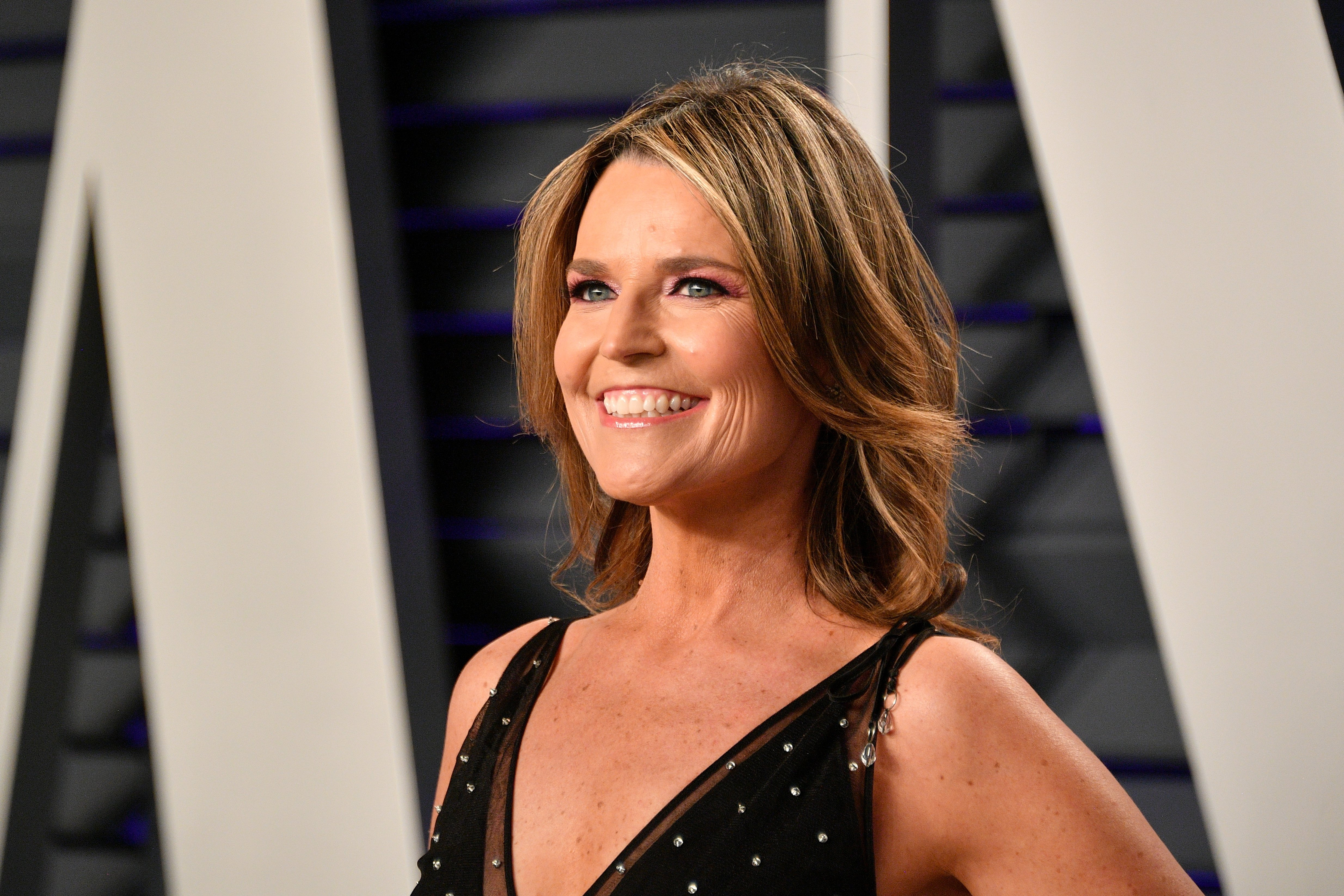 Savannah Guthrie Image Source: Getty Images.