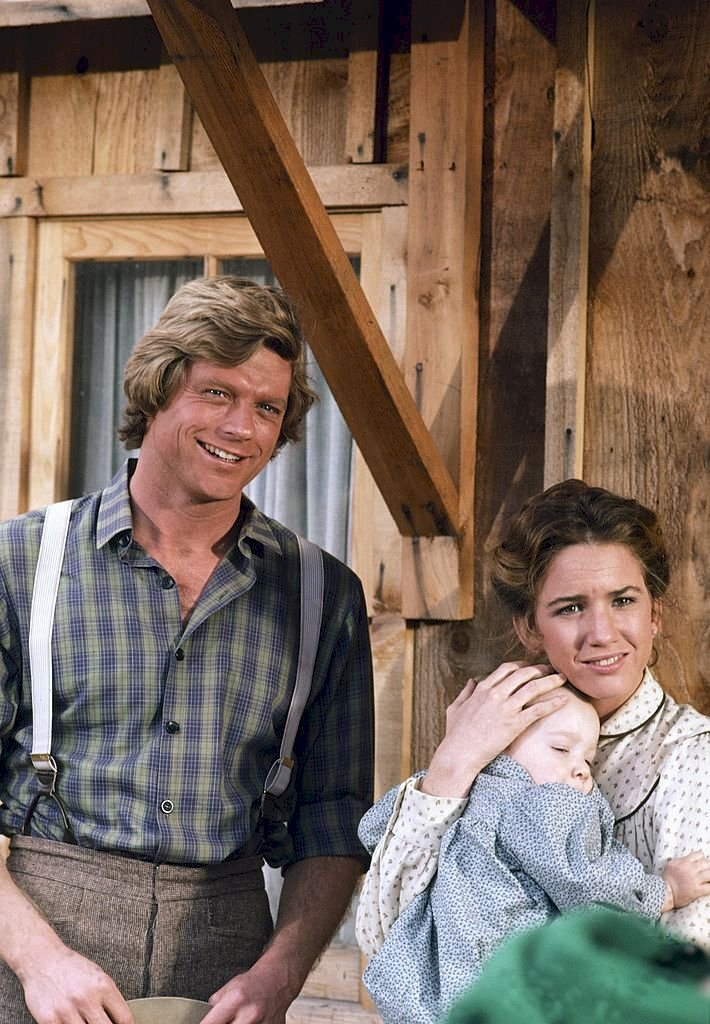 Image Credit: Getty Images/NBC | Dean Butler as Wilder and Melissa Gilbert as Laura