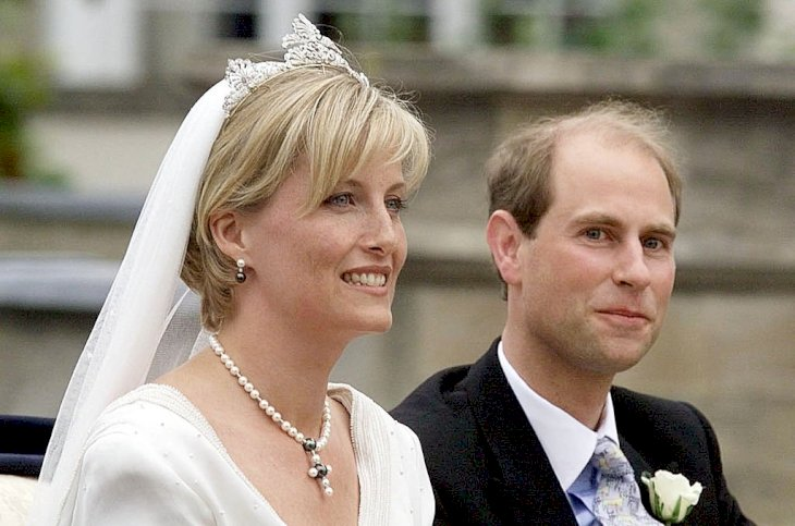 Image Credit: Getty Images / Prince Edward and Sophie Rhys Jones on their wedding day.