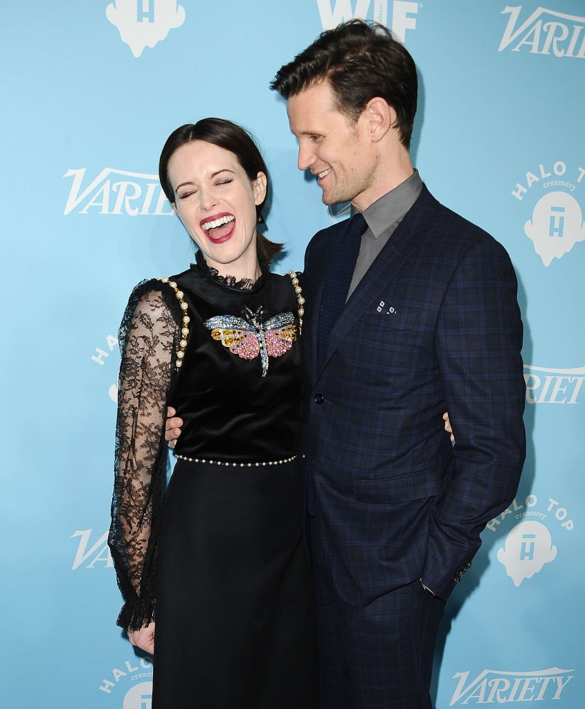 Image Credits: Getty Images / Jason LaVeris / FilmMagic | Actress Claire Foy and actor Matt Smith attends Variety and Women In Film's 2017 pre-Emmy celebration at Gracias Madre on September 15, 2017 in West Hollywood, California.