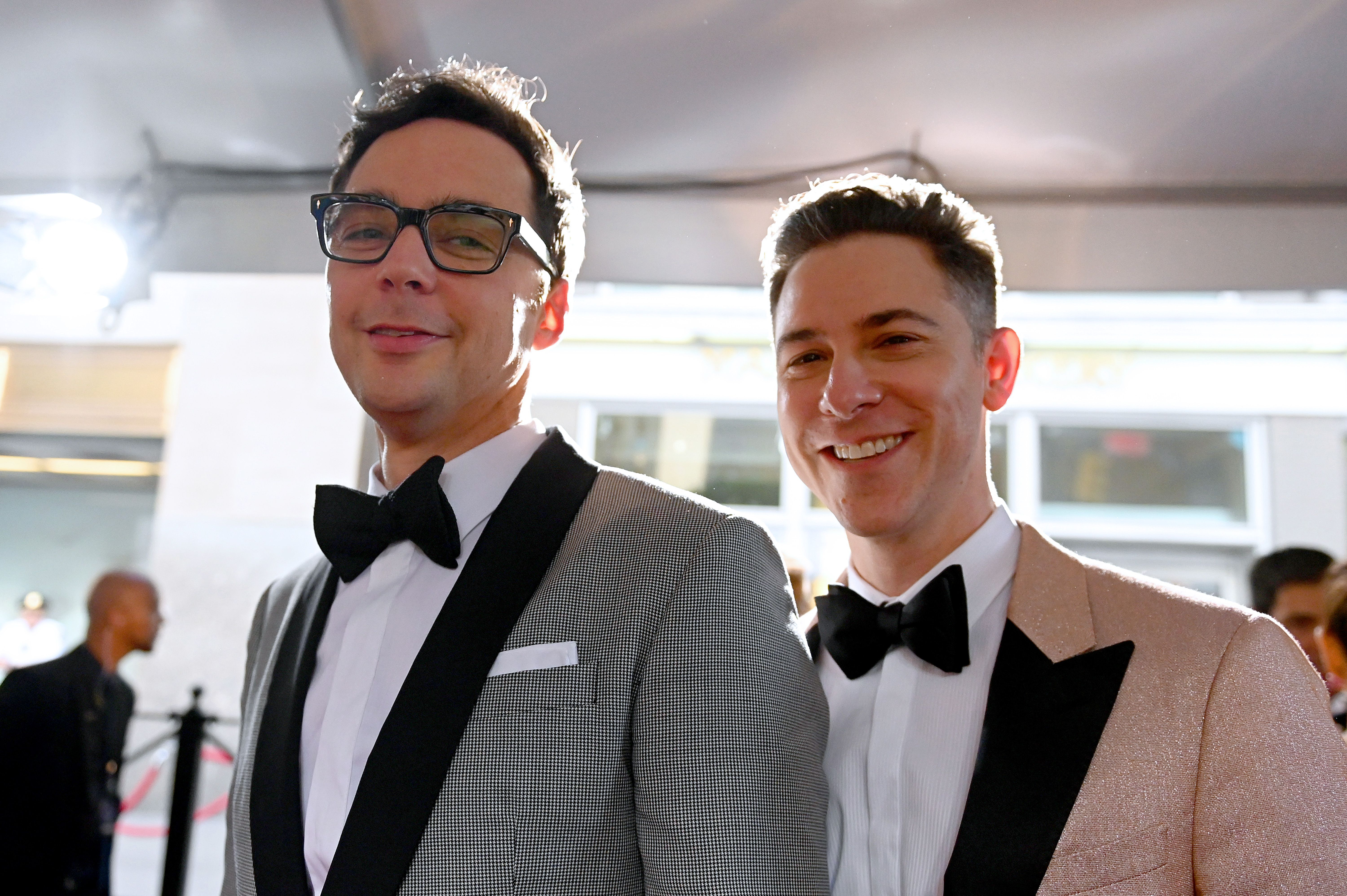 Jim Parsons and Todd Spiewak/Photo:Getty Images