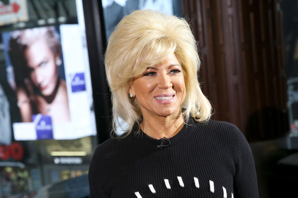 Image Source: Getty Images/Getty Images for Extra/Bennett Raglin | Theresa Caputo at 'Extra'