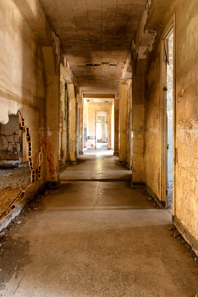 Abandoned hospital facility on Angel Island in San Francisco Bay | Getty Images / Global Images Ukraine