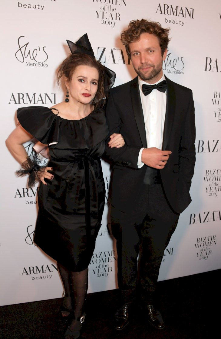 Helena Bonham Carter and Rye Dag Holmboe / Photo:Getty Images