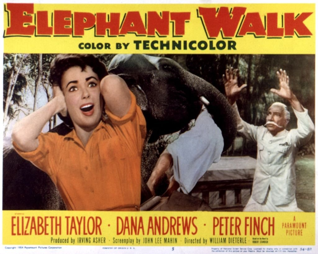 "Image Credits: Getty Images / LMPC | Elizabeth Taylor replaced Vivien Leigh on ""Elephant Walk"""