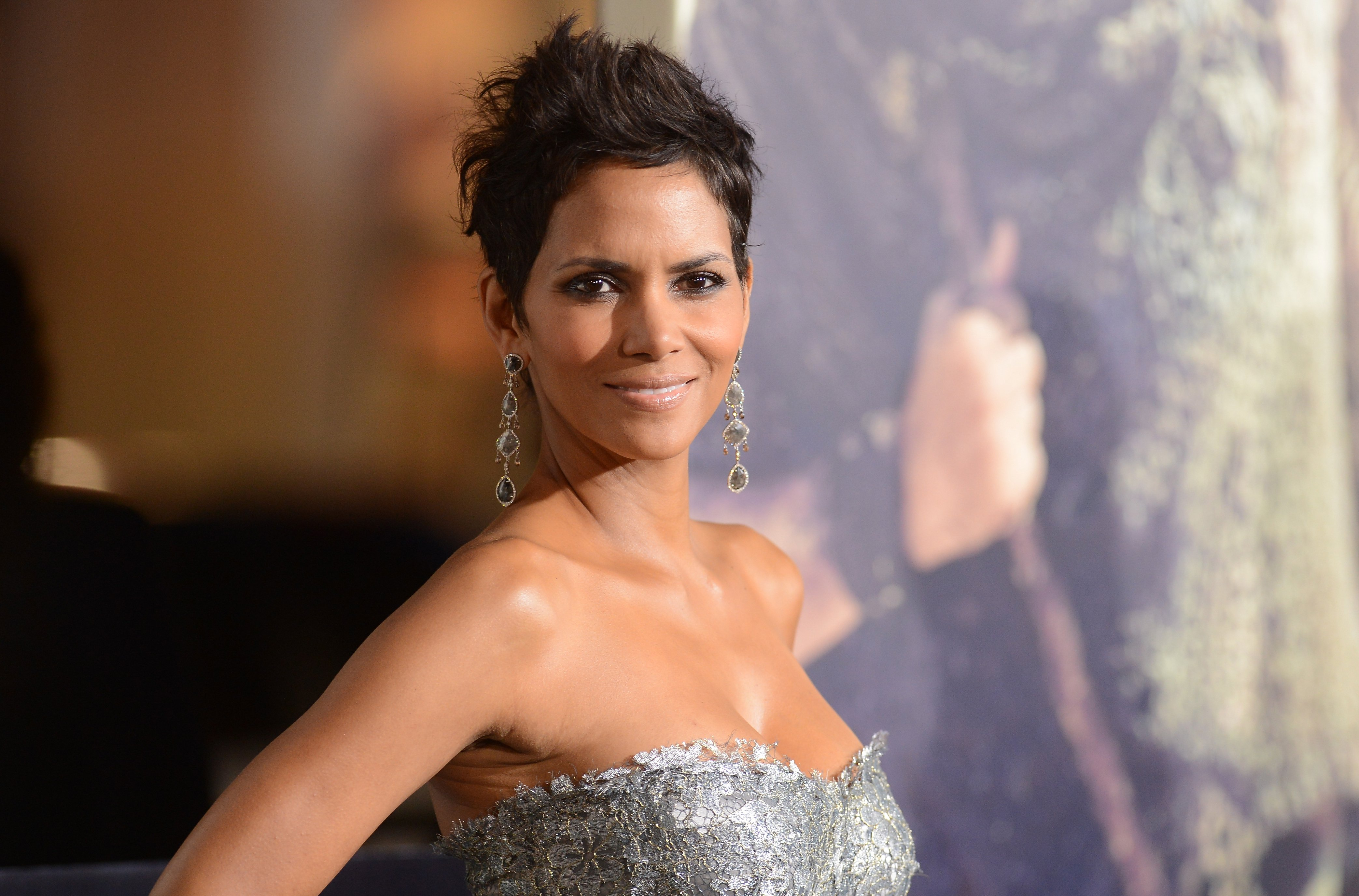 Image Source: Getty Images | Halle Berry in a red carpet event