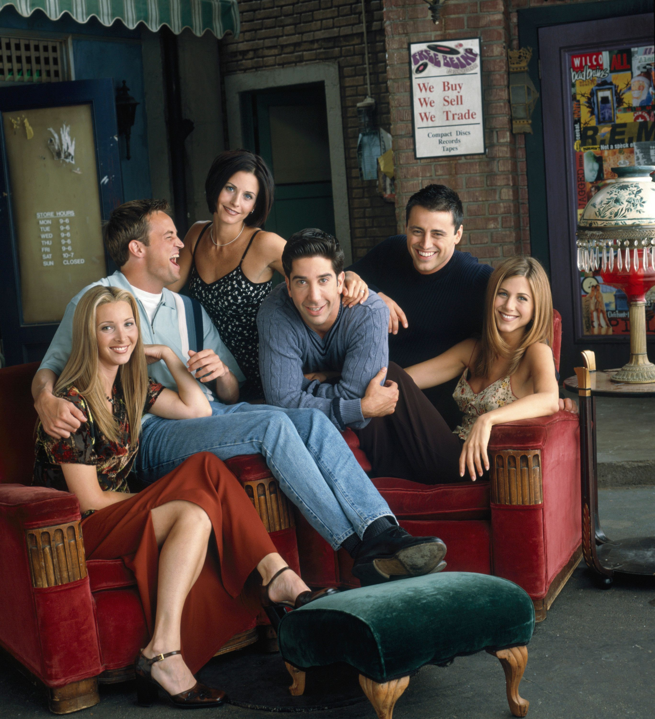 Friends were asked uncomfortable questions during their last reunion / Getty Images