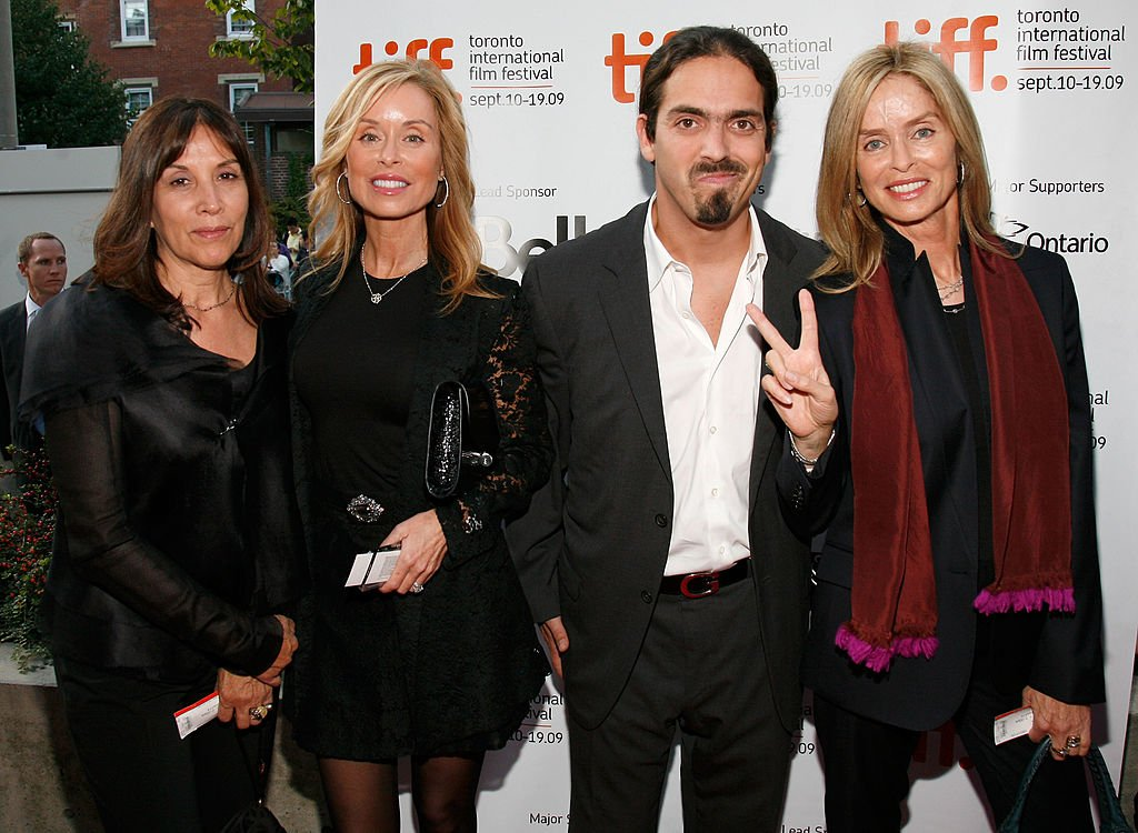 "Image Credits: Getty Images / Malcolm Taylor | (L-R) Olivia Harrison, Marjorie Bach, Gianni Gregorini and actress Barbara Bach at the ""Tanner Hall"" screening during the 2009 Toronto International Film Festival held at Isabel Bader Theatre on September 14, 2009 in Toronto, Canada."