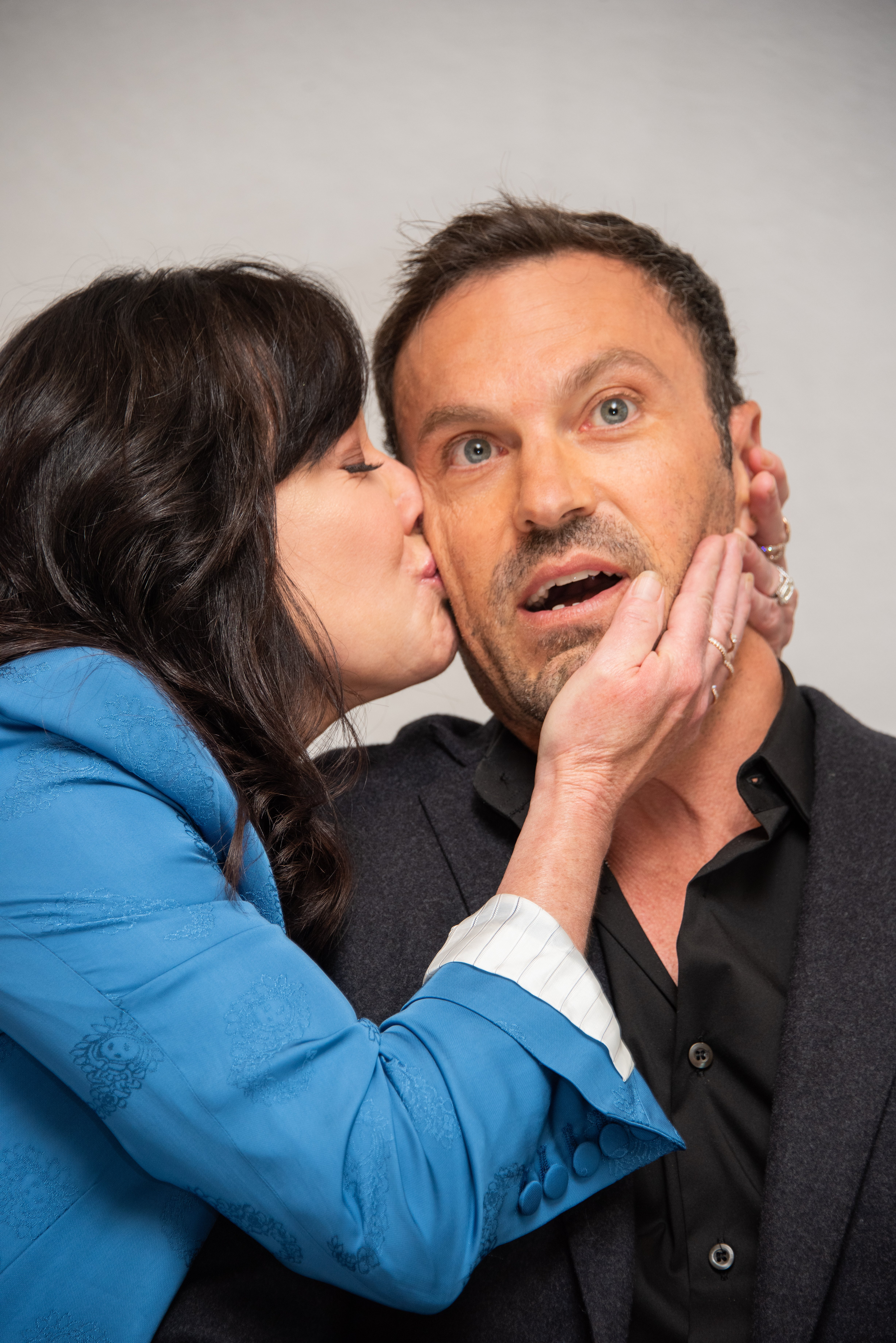 "Shannen Doherty and Brian Austin Green at the ""BH90210"" Press Conference / Photo:Getty Images"