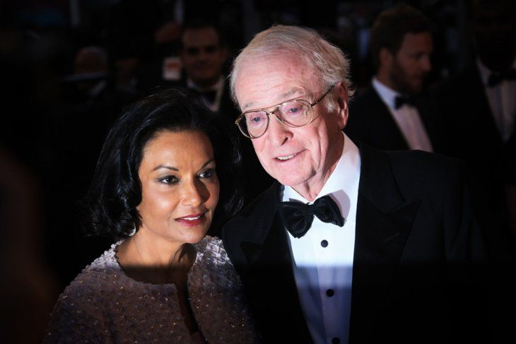 Michael Caine and Shakira Baksh/Photo:Getty Images