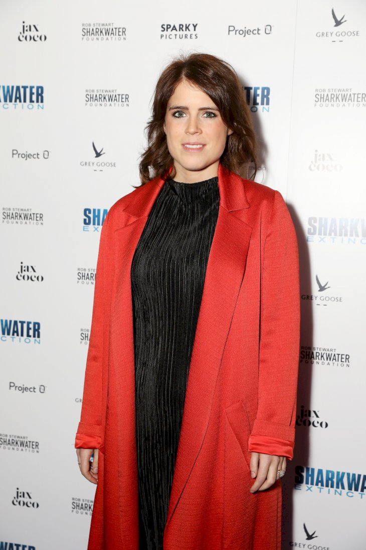 Image Credit: Getty Images / Princess Eugenie on the red carpet.