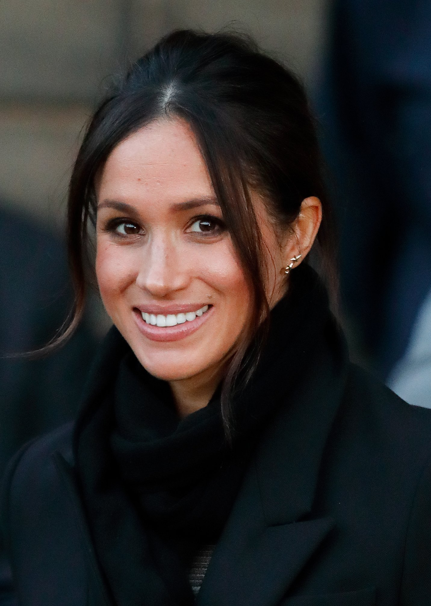 Image Credits: Getty Images | Actress, Meghan Markle is photographed by the press.