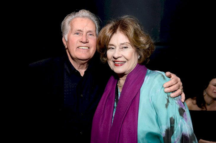 Image Credit: Getty Images / Renee's parents, Martin and Janet Sheen.