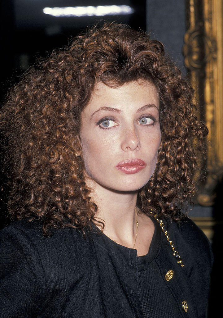Image Credits: Getty Images / Ron Galella, Ltd. / Ron Galella Collection | Model Kelly LeBrock being photographed on November 3, 1988 at Butterfield's in Los Angeles, California.