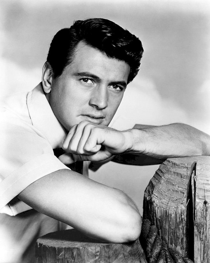 Image Credit: Getty Images/Silver Screen Collection |Rock Hudson in 1955