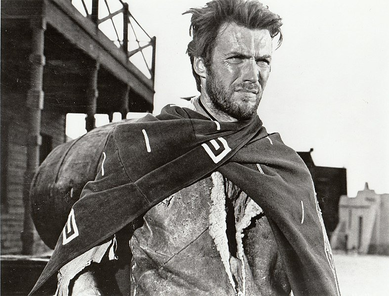 Clint Eastwood in A Fist Full of Dollars Image Source: Wikimedia Commons