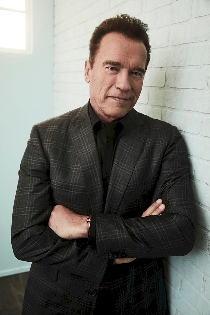 Image Credit: Getty Images/NBCUniversal via Getty Images/NBCU Photo Bank/Maarten de Boer |Arnold Schwarzenegger of 'The New Celebrity Apprentice' poses for a portrait