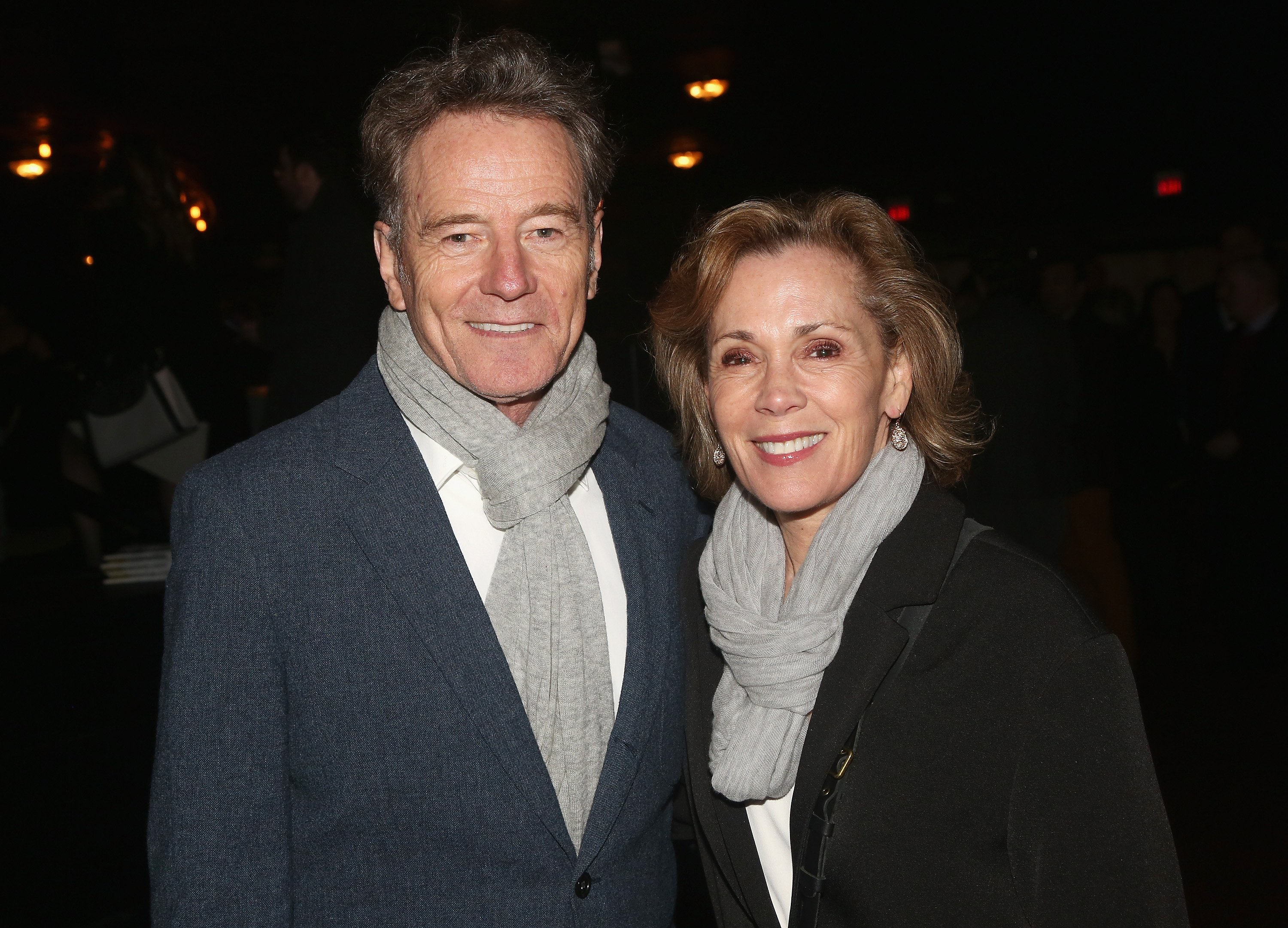Bryan Cranston and wife Robin Dearden / Photo:Getty Images
