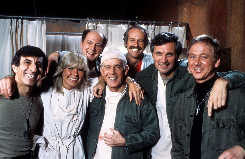 "Image Credits: Getty Images | The cast of ""M*A*S*H"""