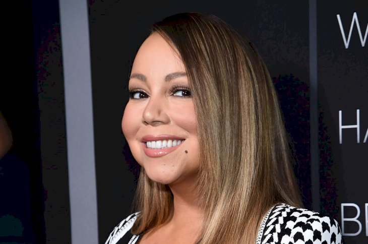 """Mariah Carey attends the premiere of Tyler Perry's """"A Fall From Grace"""" at Metrograph on January 13, 2020 in New York City. (Photo by Jamie McCarthy/Getty Images)"""