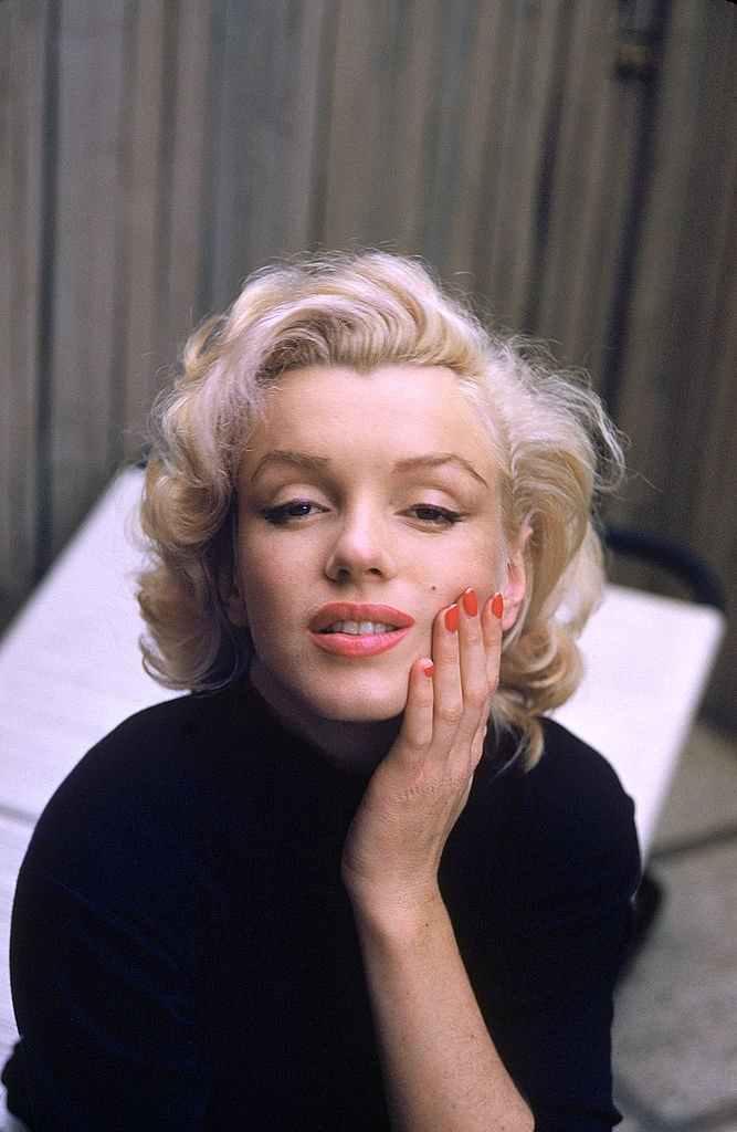 Image Source: Getty Images| Marilyn poses her iconic look