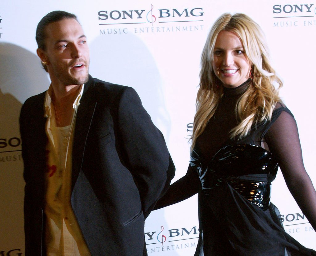 Image Credit: Getty Images / Kevin Federline and Britney Spears during 2006 Sony/BMG GRAMMY After Party at Roosevelt Hotel in Hollywood, California.