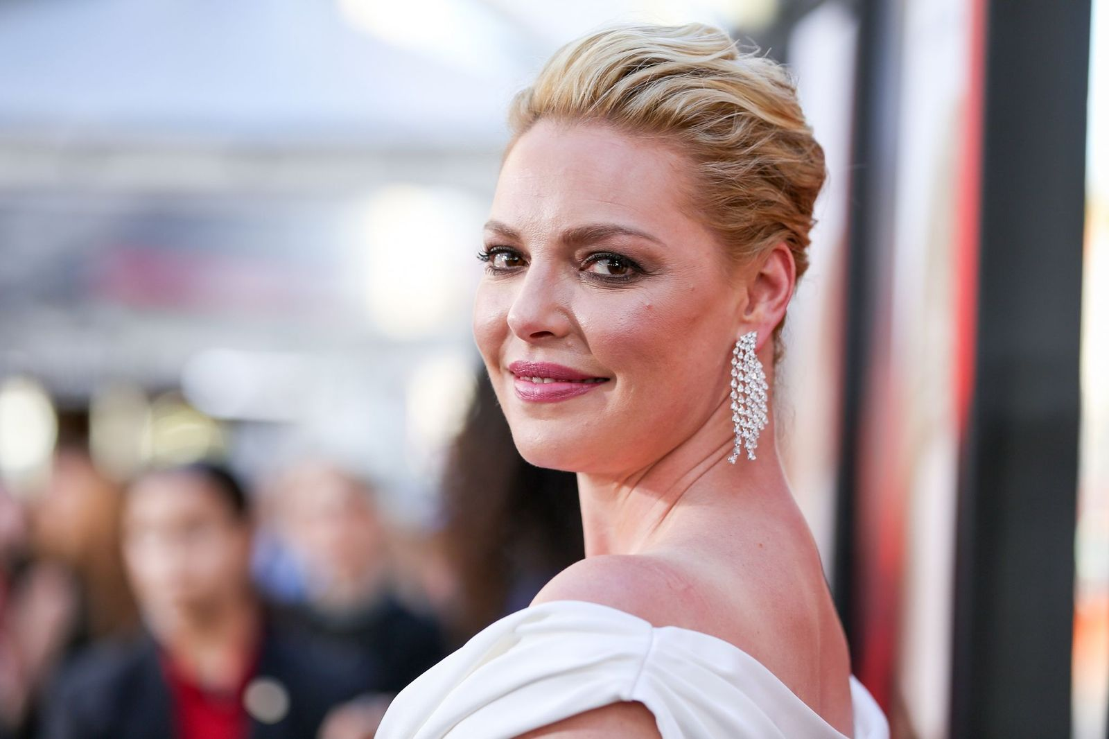 Katherine Heigl attending red carpet event/Photo:Getty Images