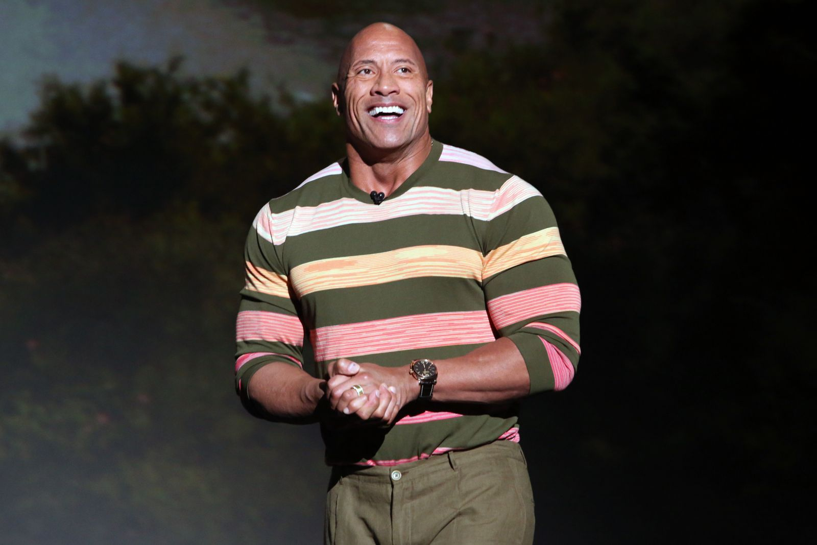 Dwayne Johnson at the Walt Disney Studios presentation in California 2019/Photo:Getty Images