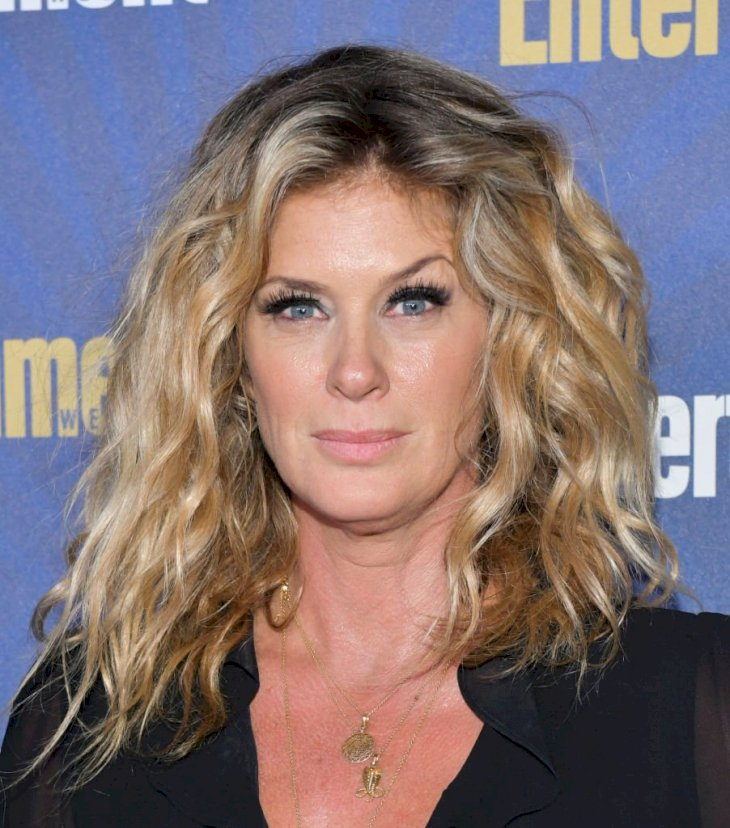 Image Credits: Getty Images / Rodin Eckenroth / WireImage | Rachel Hunter in January 2020.