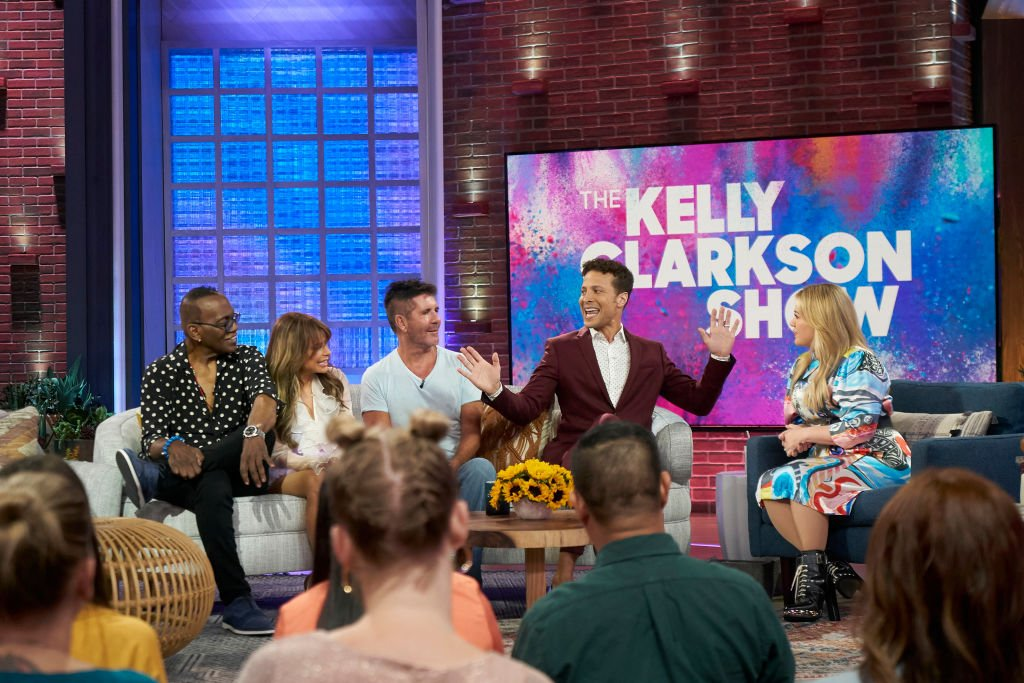Image Credit: Getty Images / Randy Jackson, Paula Abdul, Simon Cowell, Justin Guarini, Kelly Clarkson for the Kelly Clarkson Show.