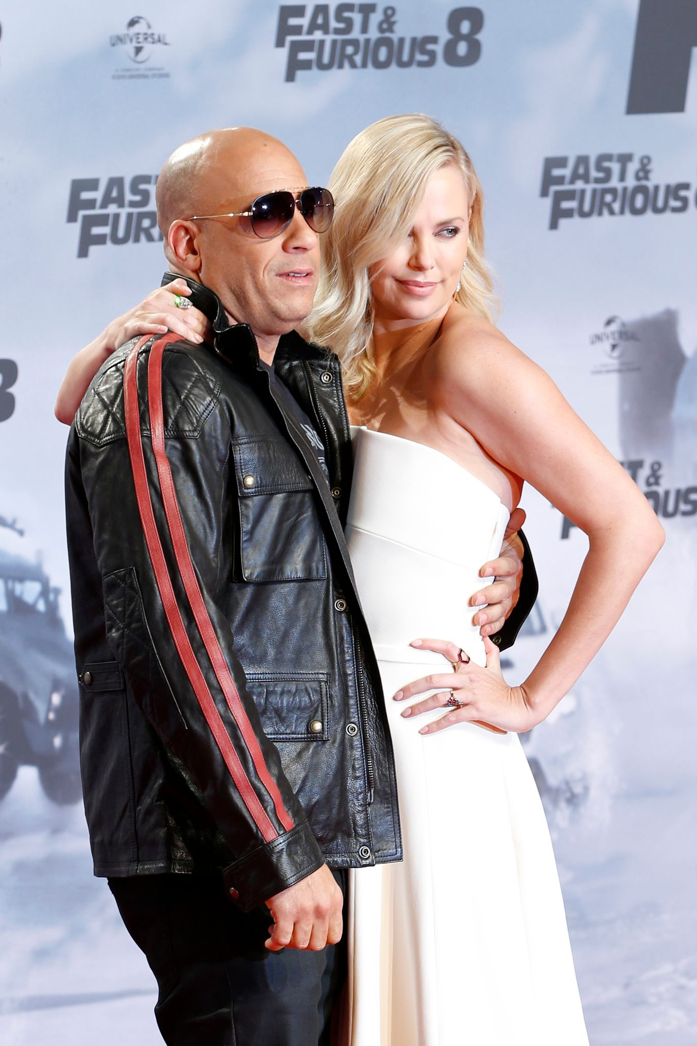 Charlize Theron and Vin Diesel shared a kiss in one of the scenes of Fast and Furious / Getty Images