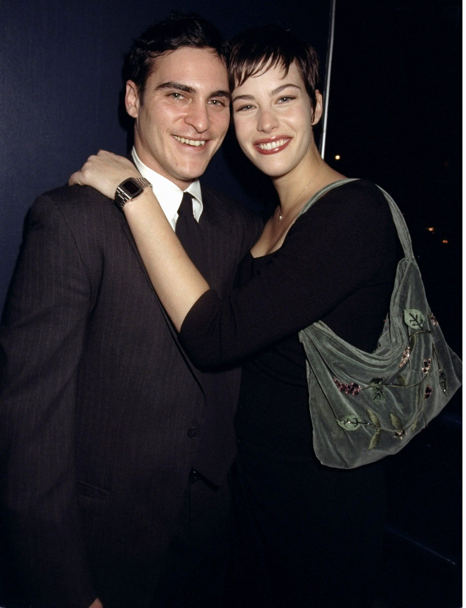 "Image Credits: Getty Images | Liv Tyler met Joaquin Phoenix on the set of ""Inventing the Abbotts"""