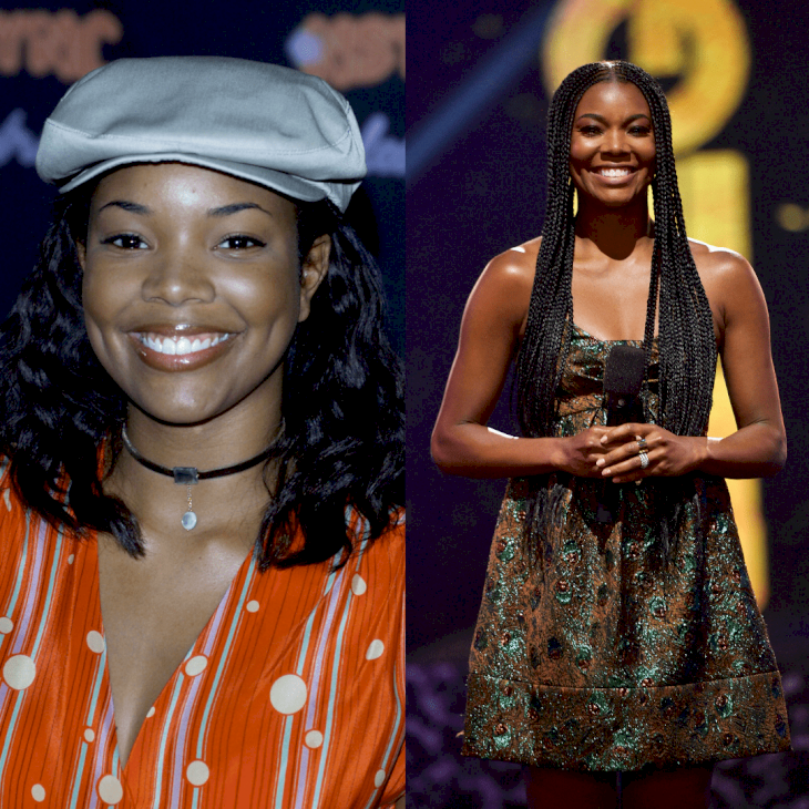 Image Credit: Getty Images / Before and After: Gabrielle Union.