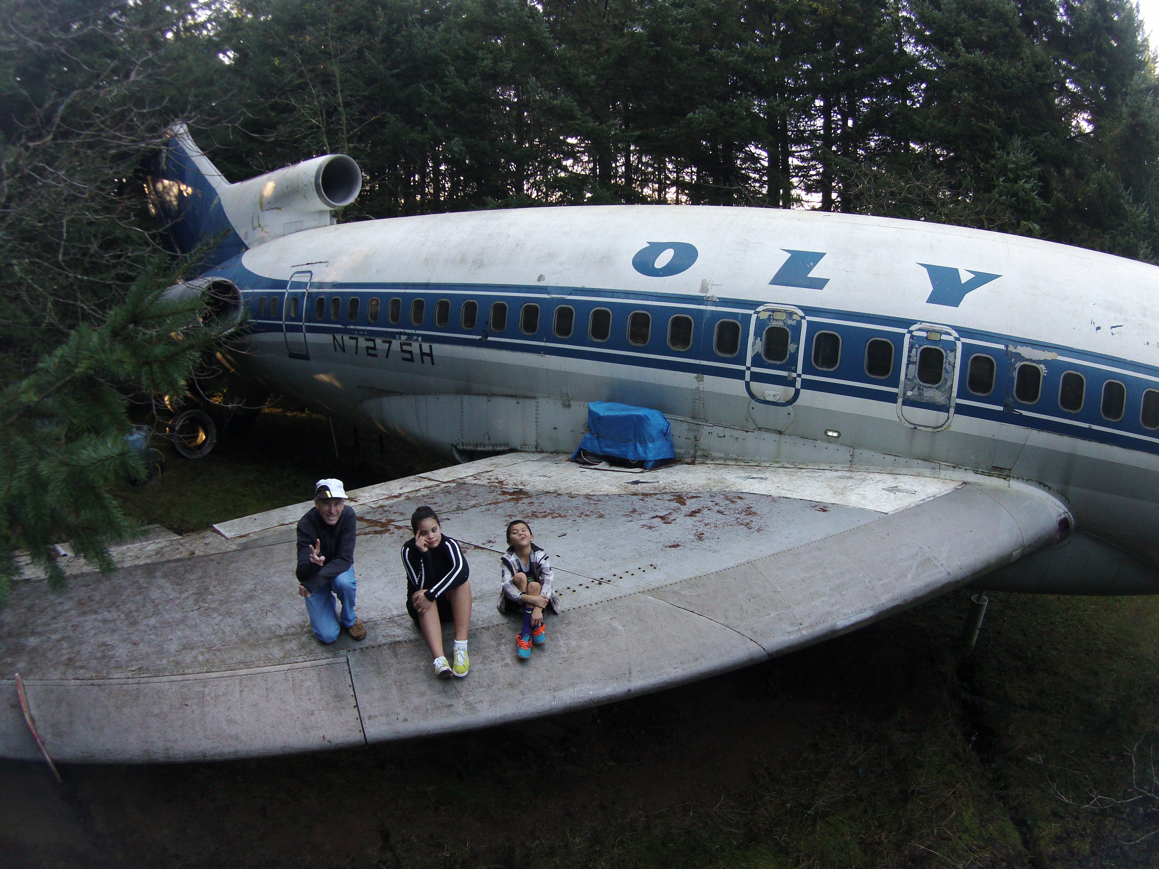 Man Buys An Airplane And Turns It Into A House