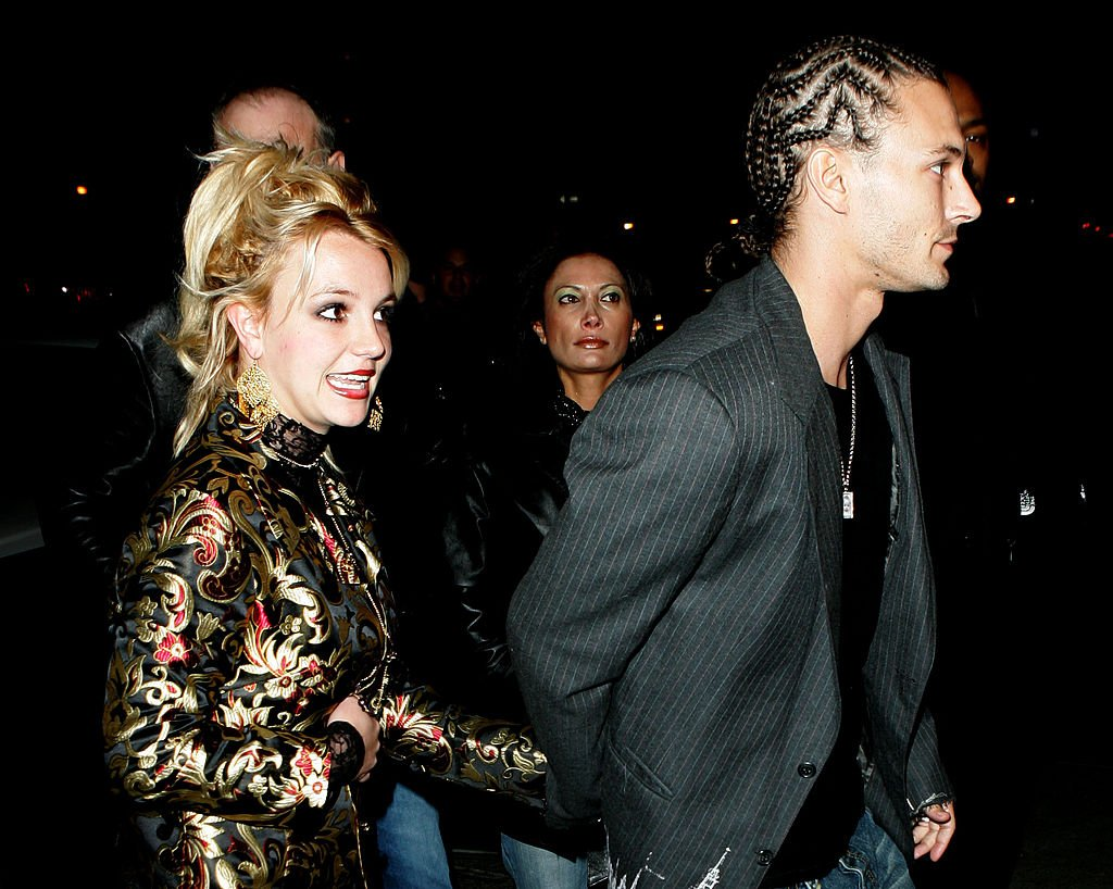 Image Credit: Getty Images / Britney Spears and Kevin Federline Sighting at Marquee in New York City - November 19, 2005.