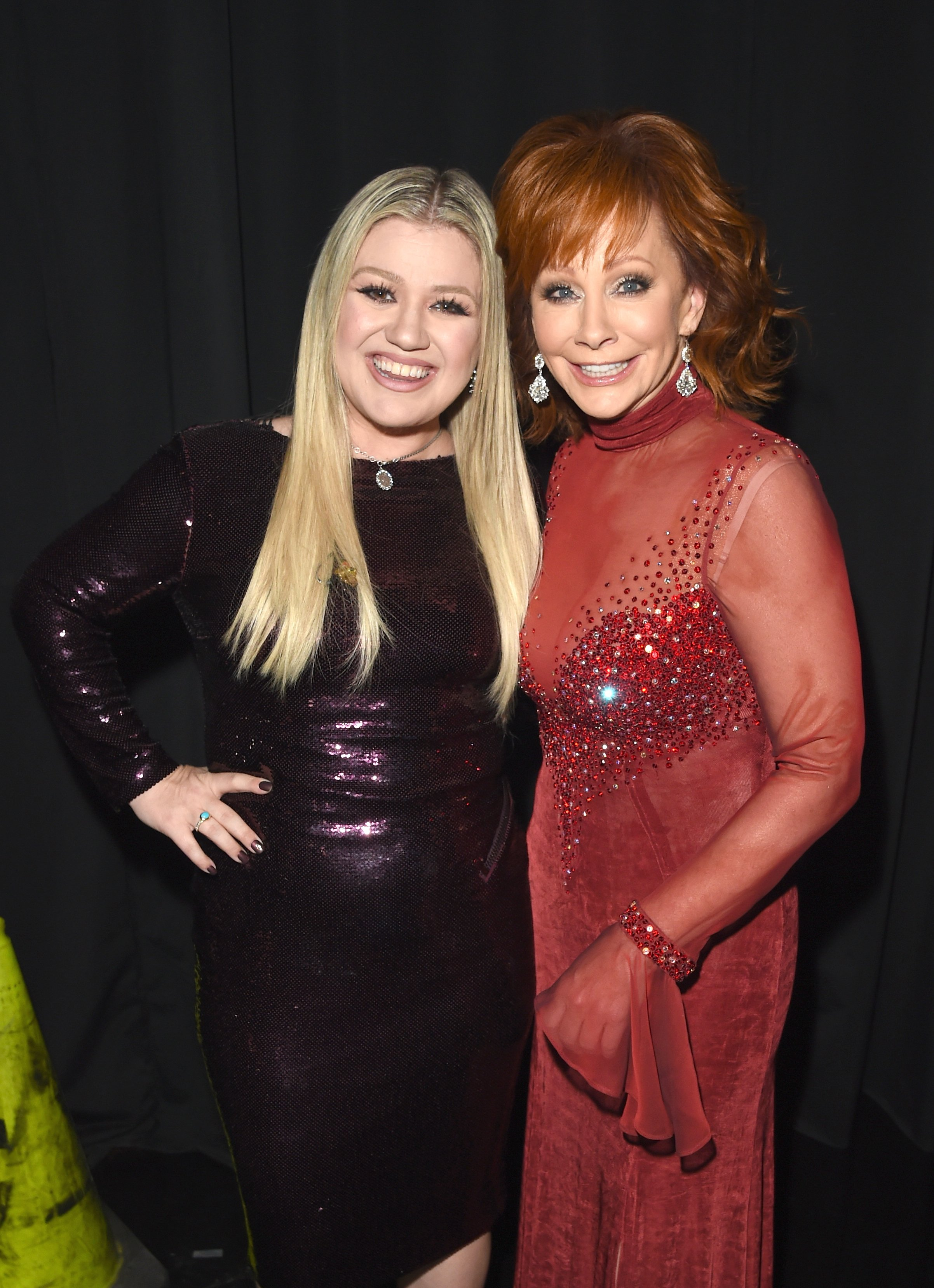 Image Credits: Getty Images | Reba and Kelly Clarkson are good friends